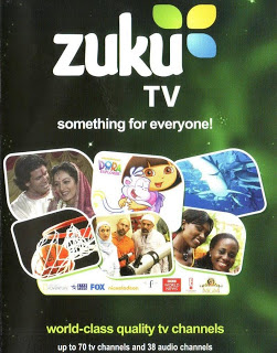 Zuku TV Channels