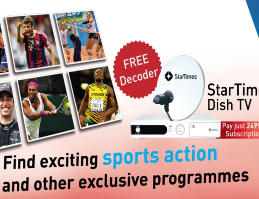 StarTimes Reduces Subscription Charges for Premium Bouquets
