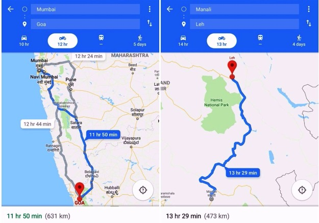 Google Maps Motorbike Mode in Kenya Officially Unveiled, here is how ...